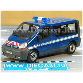 Renault Trafic Minibus French Police Gendarmerie 1:43 D43H1649