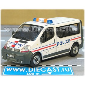 Renault Trafic Minibus French Police Patrol 1:43 D43H1650