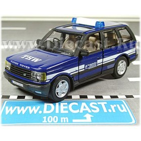 Land Rover 46 Hse Range Rover 2004 German Thw Emergency 1:43 D43H0977