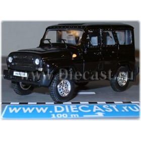 Uaz Hunter 2003 Russian Suv Color Black 1:43 D43H1201