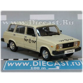 Lada Vaz 2104 1500 Station Wagon Russian Taxi Cab 1:43 D43H1713