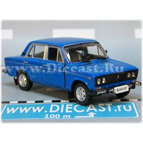 Lada Vaz 2106 1600 (FIAT 124 Berlina) Russian Sedan Color Blue 1:43 D43H1738