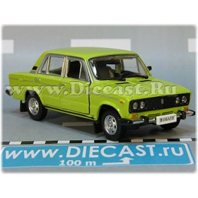 Lada Vaz 2106 1600 (FIAT 124 Berlina) Russian Sedan Color Lemon Green 1:43 D43H1736