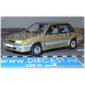 Lada Vaz 115 2115 Sedan Samara-2 Color Gold 1:43 D43H1205