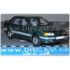 Lada Vaz 115 2115 Sedan Samara-2 Color Green 1:43 D43H1206