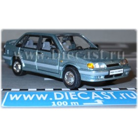 Lada Vaz 115 2115 Sedan Samara-2 Color Light Blue 1:43 D43H1207