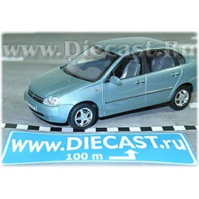 Lada Vaz 118 2118 Kalina Color Light Blue Metallic 1:43 D43H1153