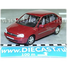 Lada Vaz 118 2118 Kalina Color Deep Red Metallic 1:43 D43H1157