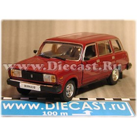 Lada Vaz 2104 1500 Station Wagon Estate Color Cherry 1:43 D43H1697