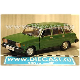 Lada Vaz 2104 1500 Station Wagon Estate Color Green 1:43 D43H1696