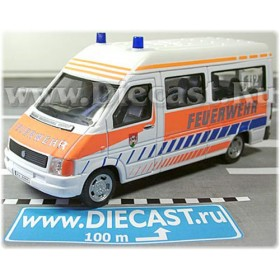 Volkswagen Lt Van German Fire Guard 1:43 D43H0957