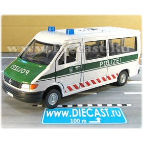 Mercedes Benz Sprinter German Police Van 1:32 D32H2024