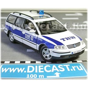 Volkswagen Passat German Thw Technical Emergency Service 1:43 D43H0959