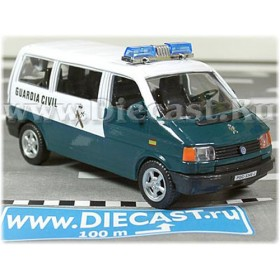 Volkswagen Transproter T4 Eurovan Spanish Police Guardia 1:43 D43H1145