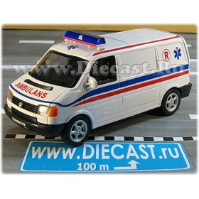 Volkswagen Transporter T4 Norwegian Ambulance Van Norway Ambulans 1:43 D43H1783