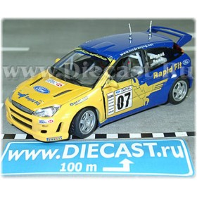 Ford Focus Wrc 2000 Rally PMaguad MRowe #7 1:43 D43H1266