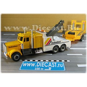 Kenworth 400 Hc Model German Tow Truck Road Service With Trailer 1:60 D60H1789