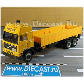 Volvo F16 German Postal Service Open Top Truck Mail Delivery 1:60 D60H1794