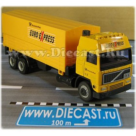 Volvo F16 German Postal Service Canvas Top Truck Mail Delivery 1:60 D60H1795