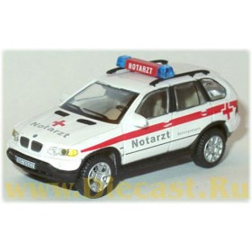 Bmw X5 German Ambulance Notarzt 1:72 D72H0541