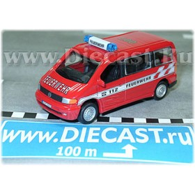 Mercedes Benz Vito Van German Fire Guard Feuerwehr 1:72 D72H0825