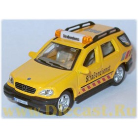 Mercedes Benz M Class Ml 320 German Road Service 1:72 D72H0545