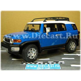 Toyota Fj Cruiser Limited Edition Out Of Production Now Color Blue 1:18 D18R1993