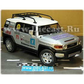 Toyota Fj Cruiser Extremly Limited Edition ALebedev Coucoussique 1:18 D18R1995
