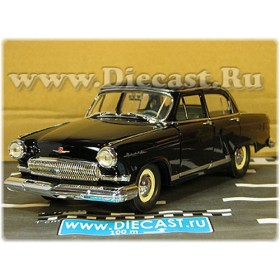 Gaz M 21 Volga 1970 Whale Moustache Radiator Grill Color Black 1:24 D24D1957