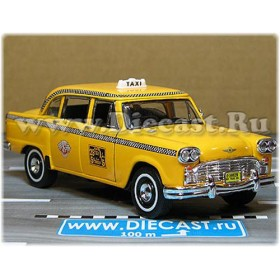 Checker 1963 New York Taxi Cab 1:34 D34S2029