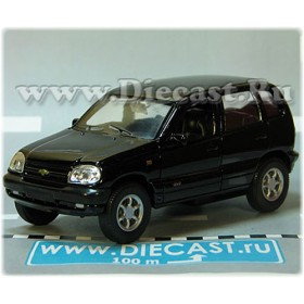 Lada Vaz 2123 Chevrolet Chevy Niva Awd 4x4 Color Black 1:36 D36W2145