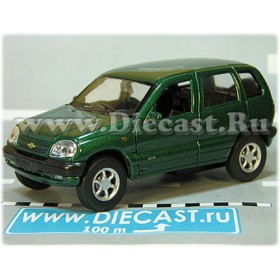 Lada Vaz 2123 Chevrolet Chevy Niva Awd 4x4 Color Green 1:36 D36W2146