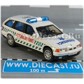 Bmw 3 SEries Wagon 325i British Ambulance Accident Unit Uk 1:43 D43H2032