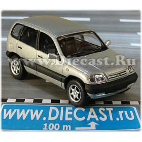 Lada Vaz 2123 Chevrolet Chevy Niva Suv Color Silver 1:43 D43H2040