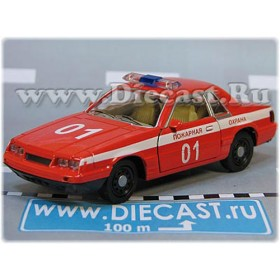 Ford Mustang Russian Fire Guard Fire Chief 1:43 D43W1996