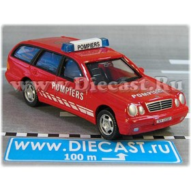 Mercedes Benz 300 France Fire Sapeurs Pompiers 1:43 D43H2046