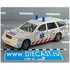 Mercedes Benz 300 Ambulance France 1:43 D43H2047