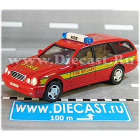 Mercedes Benz 300 Uk Fire Brigade 1:43 D43H2048