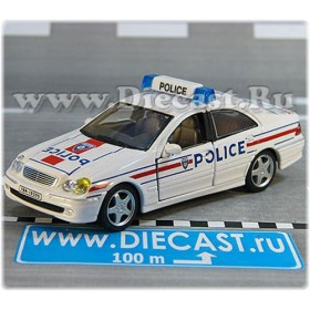 Mercedes Benz C Class French Police Paris France 2001 1:43 D43R0071