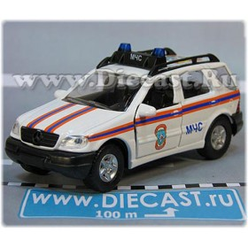 Mercedes Benz M Class Ml 320 MCHS Russian Fire Guard Rescue Ambulance 1:43 D43W1997