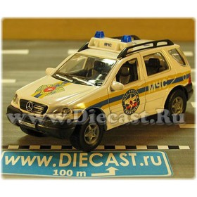 Mercedes Benz M Class Ml 320 Russian Rescue Fire Ambulance MCHS 1:43 D43H2054