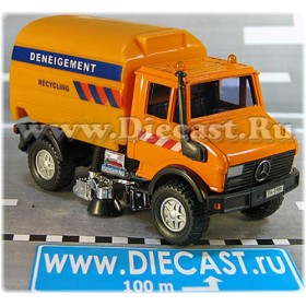 Mercedes Benz Unimog Recycling Deneigement 1:43 D43H2058