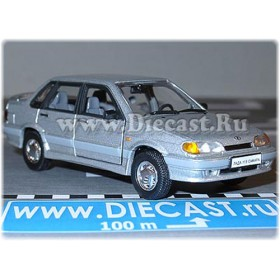 Lada Vaz 115 2115 Sedan Samara-2 Color Silver 1:43 D43H2074