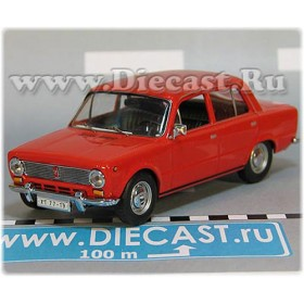 Lada Vaz 2101 1200 Sedan Color Red Limited 1 Of 999 1:43 D43H2075