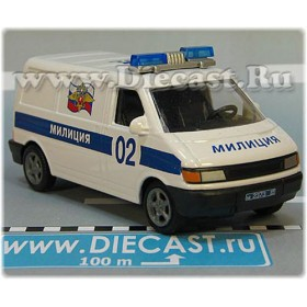 Volkswagen Transporter T4 Caravelle Russian Police 1:43 D43H2081