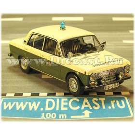 Lada Vaz 2101 1200 German GDR Police Volkspolizei 1:43 D43D1720