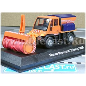Mercedes Benz Unimog U400 Snow Cleaning Truck Type A 1:72 D72W0920