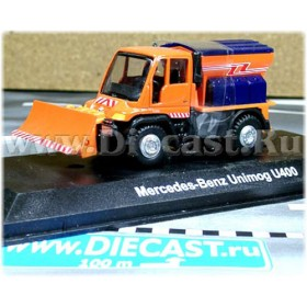 Mercedes Benz Unimog U400 Snow Cleaning Truck Type B 1:72 D72W0921