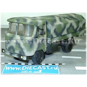 Kuban Russian Army Military Canvas Top Truck 1:43 D43R1304