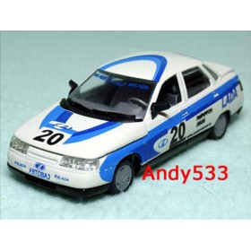 Lada Vaz 110 2110 Official Vaz Company Rally Racing Team 1:43 D43R0177